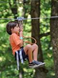 Aventure Floreval - Tyrolienne pour enfants