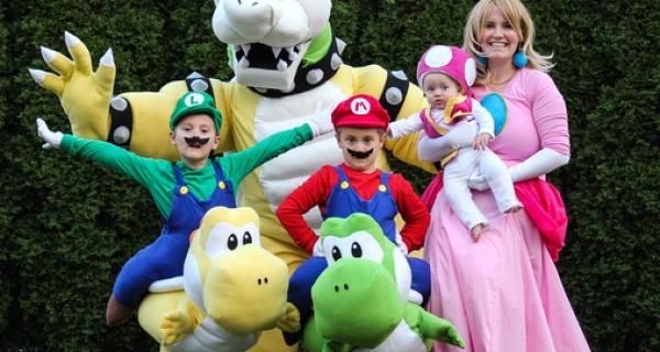 Costume de famille : déguisements parents-enfants