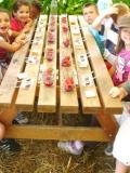Jardin Grenadine - Goûter enfants fraise