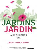 Jardins Jardin 2017 aux Tuileries - Affiche portrait
