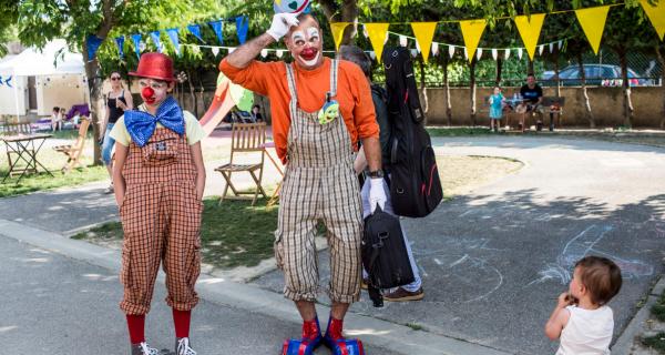 Festival Kidélires : clowns