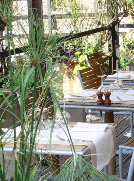 Restaurant la Baleine à Paris, dans le Jardin des Plantes