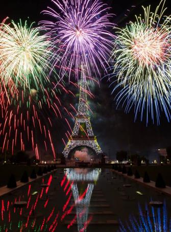 Festivités du 14 juillet 2017 à Paris