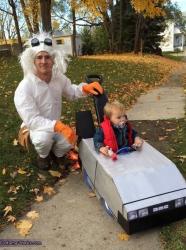 Déguisement Retour vers le futur : costume parent-enfant