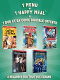 McDonald's : des DVD pour les vacances dans les Happy Meal