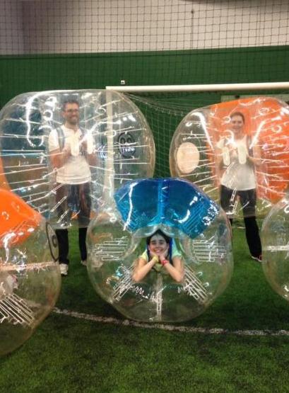 Urban Soccer Puteaux - PSG Academy : bubble bump enfants