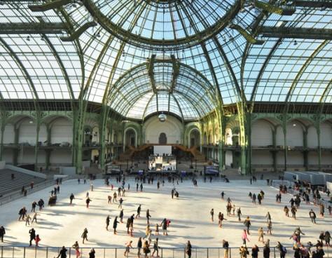 Le Grand Palais Des Glaces Patinoire éphémère à Paris Du 16 Décembre 2018 Au 9 Janvier 2019 Citizenkid