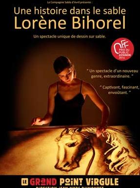 Une histoire dans le sable - Lorène Bihorel