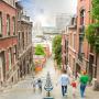 Belgique : découvrez la Wallonie en famille - Liege - Escaliers De La Montagne De Bueren