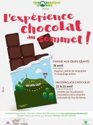 L'expérience chocolat au sommet 2017