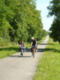 La voie verte en Bourgogne du sud