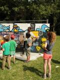 Des enfants au festival Etang d'arts