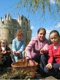 Chasse aux oeufs au château de Brissac