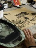 Made in Asia 2017 : Li Kunwu dessinant