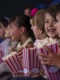 Les enfants au cinéma.