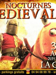 Nocturnes médiévales à La Garde