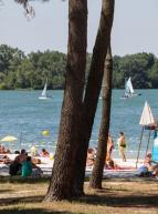 La Plage du Lac : baignade en été à Bordeaux