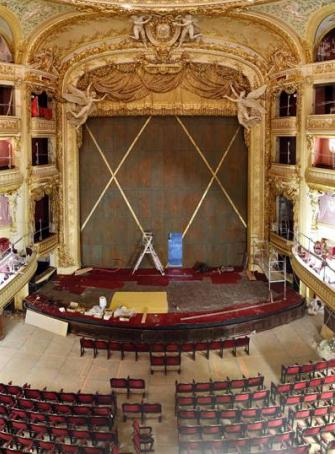 Opéra Comique de Paris en travaux