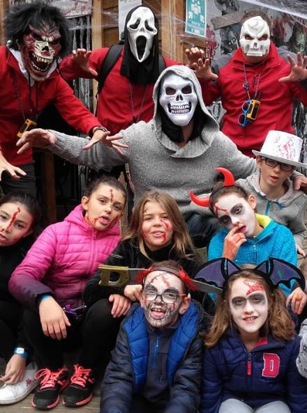 Halloween dans les parcs France Aventure
