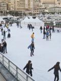 Patinoire plein air Stade nautique Rainier III à Monaco