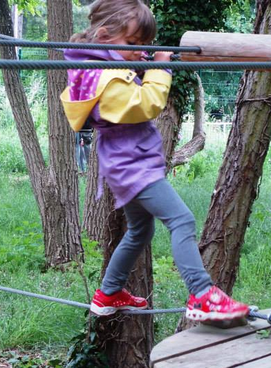 Ecopark Adventures Moulin de Sannois : enfant