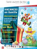Vacances en famille à Saint Laurent du Var - 2016