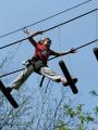 Parc Aventure Davy Crockett - Parcours enfant accrobranche