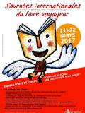 Affiche des Journées Internationales du Livre Voyageur