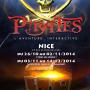 Pirates l'aventure interactive affiche Nice 2014