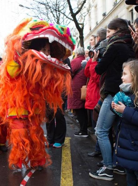 Le Nouvel An chinois à Paris : défilé 2019 en famille