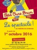 Petit Ours Brun, le spectacle