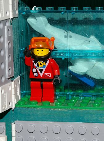 L'exposition LEGO à l'Aquarium de Paris