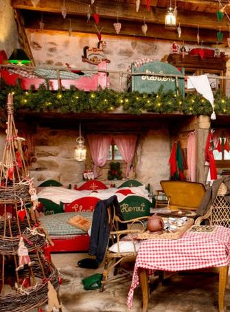 Le Hameau du Père Noël en famille