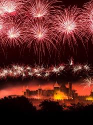 feu artifice 14 juillet 2015 carcassonne