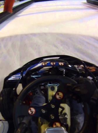 Kart sur glace à la Patinoire Mériadeck