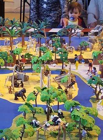 Exposition PLAYMOBIL à la Foire annuelle de Brindas