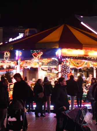 Fête foraine de Noël à Tourcoing