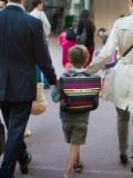 Sortie d'école avec les enfants