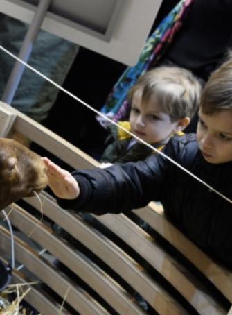 Salon de l'Agriculture - Ferme pédagogique pour les enfants