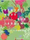 Rendez-vous aux jardins 2016 - affiche officielle