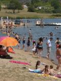 Lac de Villerest : baignade en famille près de Lyon