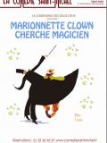 Marionnette clown cherche magicien - Cie des deux fous