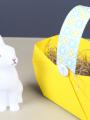 Un panier pour la chasse aux œufs de Pâques