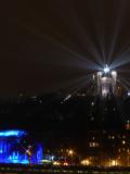 Boule à facettes disco Fourvière Fête des Lumières 2014