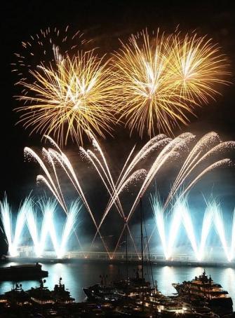 Concours International de Feux d'artifice Pyromélodiques de Monaco