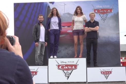 Cars 3 : le casting français au karting
