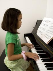 Cours de piano enfant