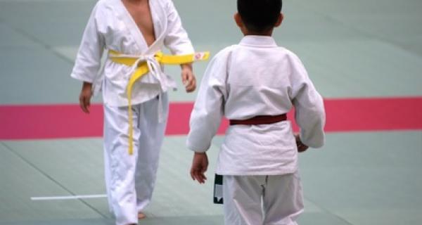Cours de judo enfant