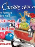 Chasse aux oeufs 2013 au Hameau du Père Noël