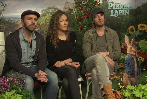 Pierre Lapin : Philippe Lacheau, Elodie Fontan et Julien Arruti nous parlent du film